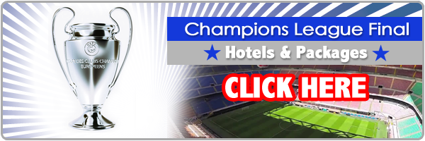 hotels for UEFA Champions League Final 2016