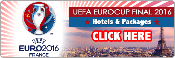 hotels for UEFA Euro Cup Final 2016