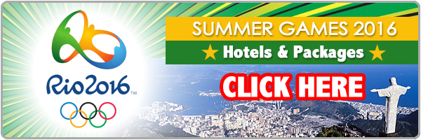 hotels for Olympic Summer Games 2016